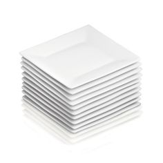 """Set of 12 Boxed 6"""" Appetizer Plates"""