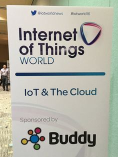 About to go on. Talking #IoT and #Cloud. #iotworld16 - Twitter Search