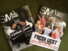 "Street Motivation Magazine Vol. 19 ""GrindFace"" & ""Fresh West"" 2013 Special Edition Summer Issue. www.sm-mag.com"