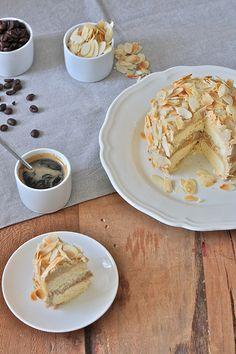 Mocha Cake con mandorle