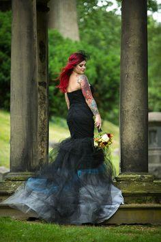 Black Wedding Dress of Your Dreams // Offbeat Bride