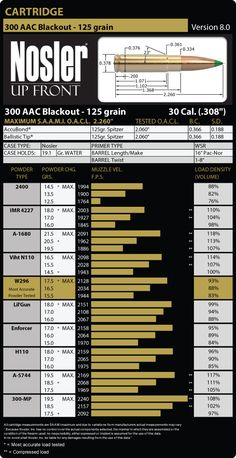 300 AAC Blackout 125 Grain Load Data