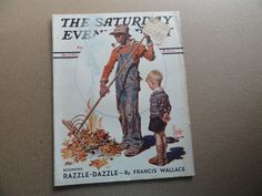 Saturday Evening Post Magazine November 6 1937 Complete