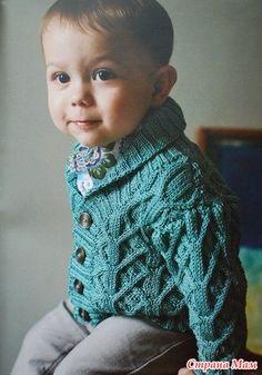 ОН-Лайн жакета с косами Fynn, **Rowan Summer Baby** для мальчика - **Вязание это мое Хобби** - Страна Мам