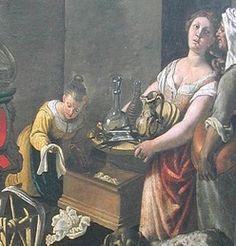 Italian Working class dress, c 1575-1600 (Vincenzo Campi)