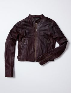WOMENS LEATHER JACKET #TRholiday13