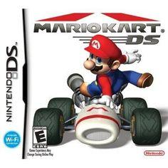 Mario Kart DS --- http://www.amazon.com/Mario-Kart-DS-Nintendo/dp/B000A2R54M/?tag=zaheerbabarco-20