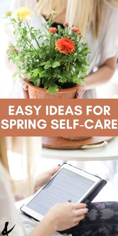 Self-care is so important right now! These easy ideas will help you take a little me-time for yourself right now. Take a mom timeout and do one of these activities. Different Types Of Books, Spring Cupcakes, Positive Mental Health, Like A Mom, Spring Aesthetic, Johnson And Johnson, Self Care Routine, Meals For The Week