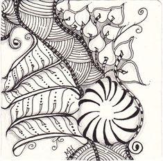 it's so fun tangling the zen : ) by Melissa Hoopes, CZT ~ #CertifiedZentangleTeacher