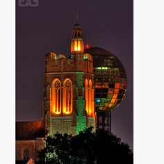 ...like a beacon shining bright the stately walls of ol' UT rise glorious to the sight...