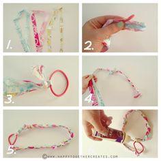 Happy Together: No Sew Braided Headbands DIY