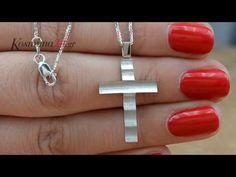 Λευκόχρυσος σταυρός βάπτισης Κ18 024653C | Βαπτιστικοί Σταυροί με Αλυσίδα