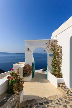 Oia. Santorini, Greece