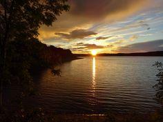 Sunset over Eccup Reservoir..Leeds