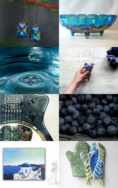 Got the Blues?   by Cyndie on Etsy--Pinned with TreasuryPin.com