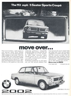 BMW 2002 Ad 1970