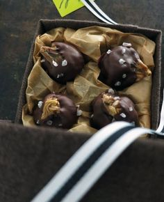 Homemade Gift Recipe: Chocolate-Dipped Figs with Sea Salt — Recipes from The Kitchn