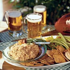 Chile-Cheese Spread - Ready-to-Serve Tailgating Recipe Ideas - Southern Living