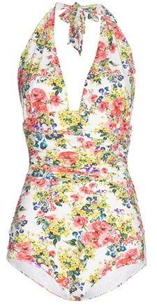 Dolce & Gabbana Printed swimsuit http://shopstyle.it/l/cJmP
