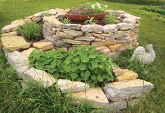 spiral garden--love this!
