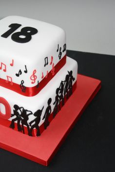 55 Best 18th Birthday Cakes Images On Pinterest
