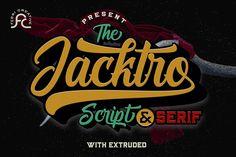 Jacktro Font by Febri Creative - Creative Fabrica