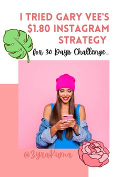 So... I tried this $1.80 Instagram Growth Strategy by Gary Vee for 30 days challenge. Did I fail or succeed? This Instagram strategy involves commenting on other posts in your Instagram or branding niche. It takes technically your time and effort however will it be worth it? Find out and see... Create Your Own Business, Gary Vee, 30 Day Challenge, Creating A Brand, I Tried, Self Development, Self Improvement, Effort, Seo