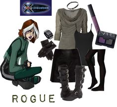 Rogue rogue costume rogues and costumes x men evo rogue s1 by chrissykp on polyvore solutioingenieria Gallery
