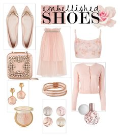 """Rosy"" by martina-b33 ❤ liked on Polyvore featuring Mother of Pearl, Manolo Blahnik, RED Valentino, Prada, Betsey Johnson, Pasquale Bruni, Rothko and Too Faced Cosmetics"