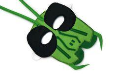 Grasshopper Mask Bug Mask Woodland Animal by fAverittecreations, $14.00