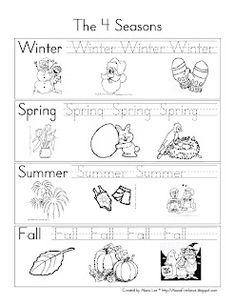 Pre-K and Kindergarten Seasons Review