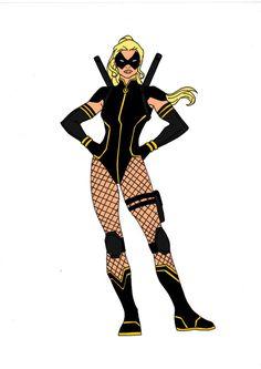 Batman Year One-Black Canary by Comicbookguy54321.deviantart.com on @DeviantArt