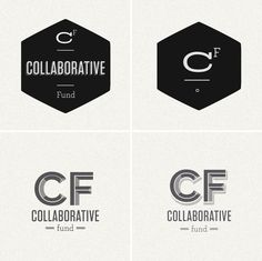 Collaborative Fund identity by Kelli Anderson