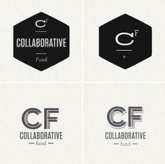 Collaborative Fund identity by Kelli Anderson
