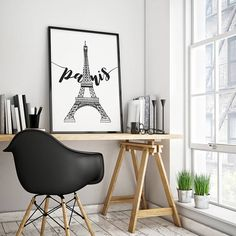 A very lovely Paris Wall Art to complete your Paris Eiffel tower decor, this Eiffel Tower print is ready to print at home in 3 different sizes. Perfect for a Paris theme party decor or as a part of you wall art home decor! :: WHAT YOU GET :: - Instant Download files - Printable Paris and Eiffel Tower Print - Perfect French printable sign for your home - 3 different sizes: 18x24, 16x20, 8x10 - Scalable for smaller sizes, if you need a bigger size contact me so I can craft a bigger print…