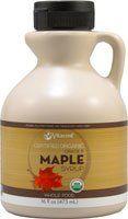 Vitacost Whole Food Certified Organic Maple Syrup Grade B - Non-GMO -- 16 fl oz ( 473 mL) - http://goodvibeorganics.com/vitacost-whole-food-certified-organic-maple-syrup-grade-b-non-gmo-16-fl-oz-473-ml/