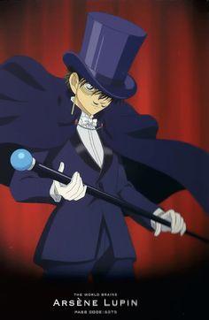 Toichi as Arsene Lupin