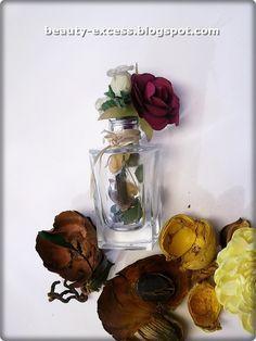 DIY Mini decoracion con botella de perfume  #adorno #reciclaje #vidrio