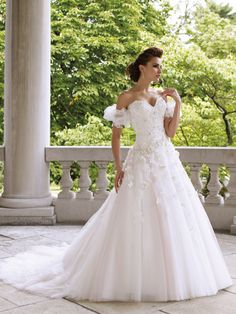 David Tutera Spring Summer 2012 Bridal Collection+ My Dress of the Week - Belle the Magazine . The Wedding Blog For The Sophisticated Bride