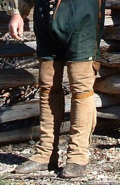 Woodland Indian Leggings By Sheryl Hartman. Mountain Man Clothing, Mountain Man Rendezvous, Woodland Indians, Longhunter, 18th Century Clothing, Fur Trade, American Frontier, American Revolution, Historical Clothing