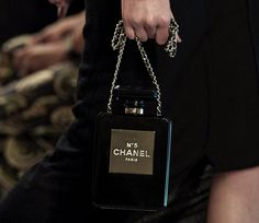 Latest Obsession: The Chanel No. 5 Perfume Bottle Clutch - PurseBlog
