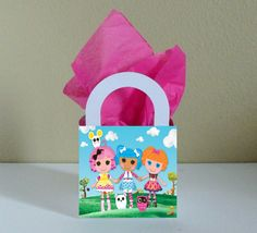 10 Lalaloopsy Favor Boxes Centerpieces by CutePartySupplies