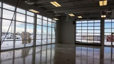 New Commercial Space has a few extra windows for us to get clean.