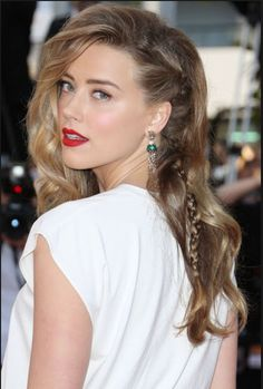 Fake a shaven side #braid #plait #shaved #amberheard