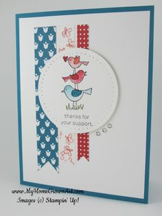 For-the-Birds+Stampin-Up+1.JPG 547×729 pixels
