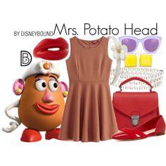 Disney Bound - Mrs. Potato Head