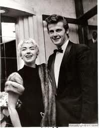 Roger Moore and Dorothy Squires, married 1953