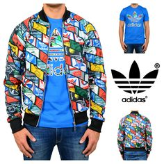The latest by adidas Originals! adidas Tongue Labels Superstar Track Jacket.  http://goo.gl/Woqc1W