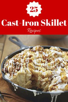 Cooking in Your Cast Iron Skillet | Use your nonstick pan all the time? Don't forget about the versatile cast iron. Here's why you should use it tonight.