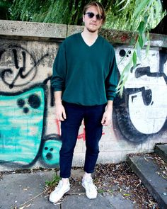 Cool sweaters and sportswear for men back in stock Pullover 19 Pants 12 Dresdner str. 80 LEIPZIG  #humanasecondhandgermany #humanaleipzig #humanasecondhand #vintage #vintageclothing #saturdays #ootd #autumn #fall #fashion #style #streetstyle #lookbook #picoftheday #lookoftheday